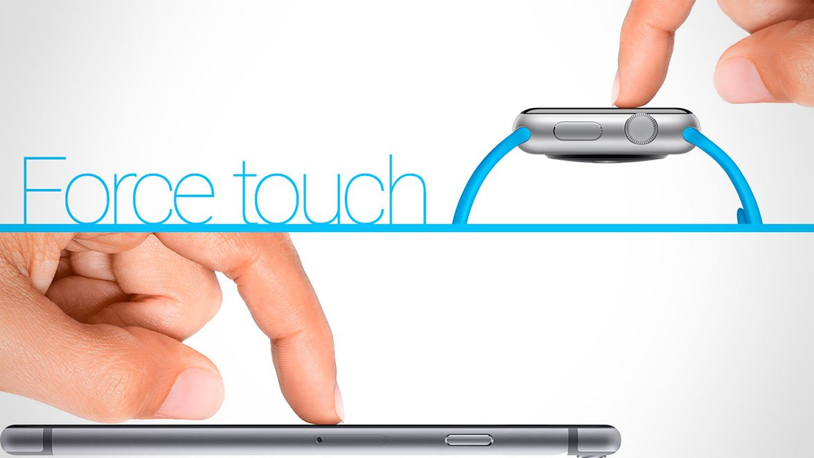 Apple Force Touch на iPhone и Apple Watch