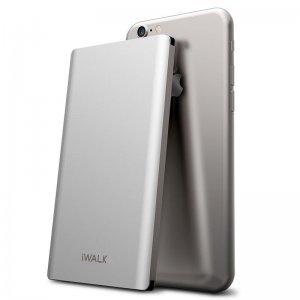 Дополнительный аккумулятор универсальный iWalk Chic 5000mAh серебристый