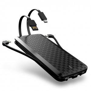 Внешний аккумулятор iWalk Scorpion 8000mAh (UBT8000X) черный